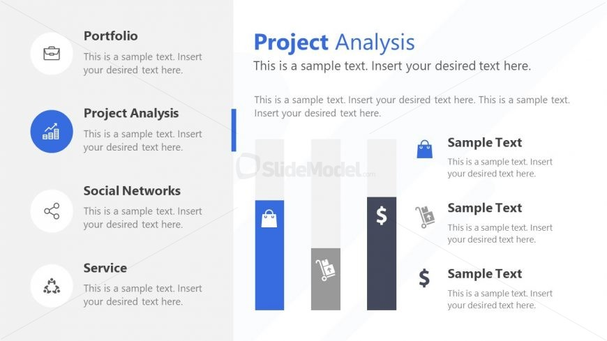 Infographic PowerPoint Statistical Analysis