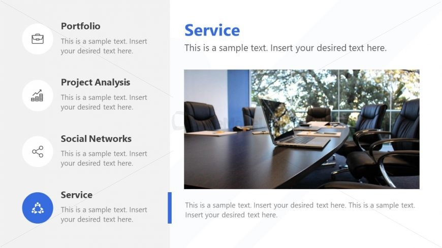 Services Template Presentation Optimistic
