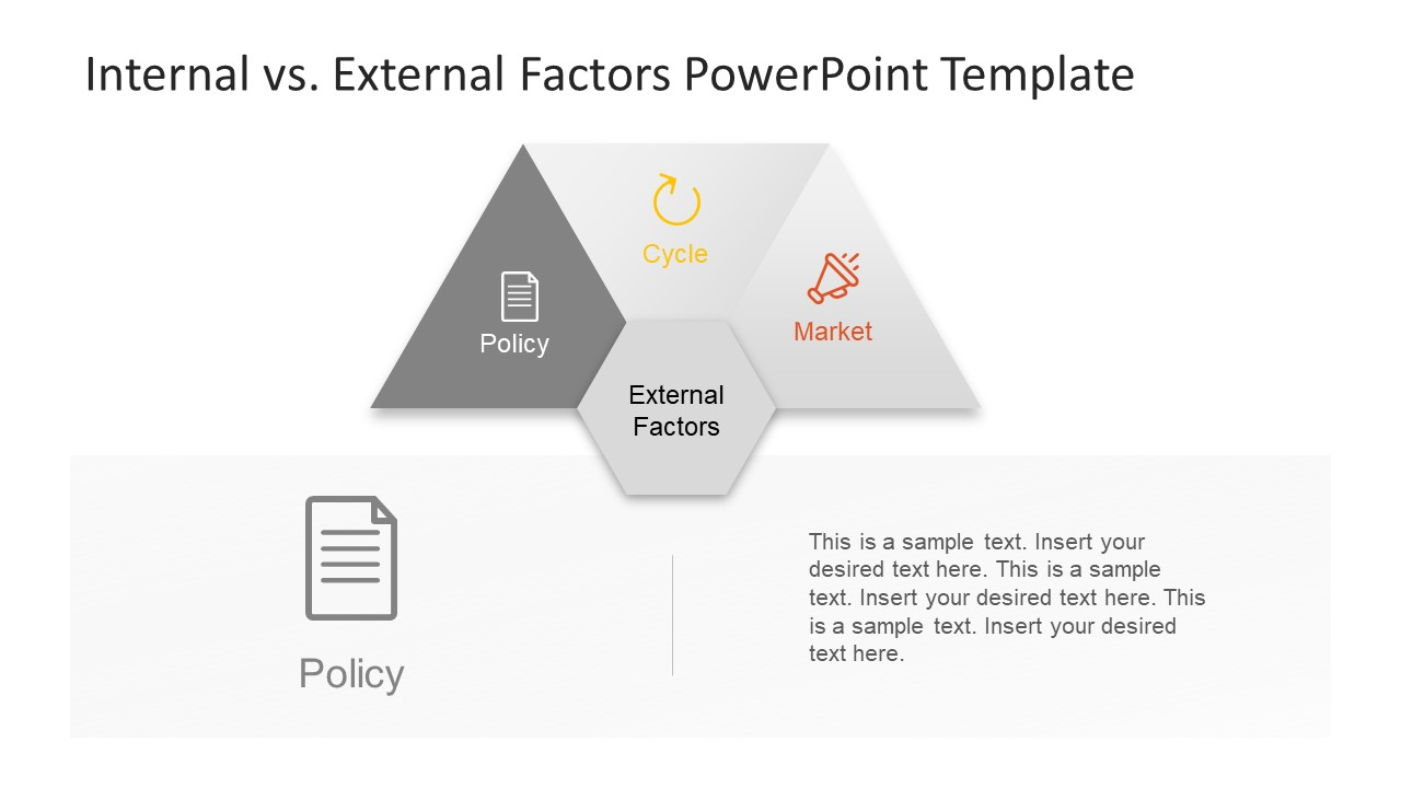 Infographic Policy Icon Slide