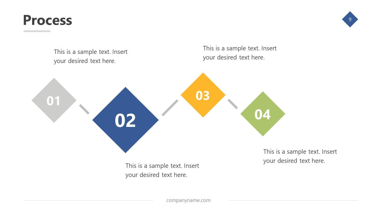 Template of Business Diagram Design