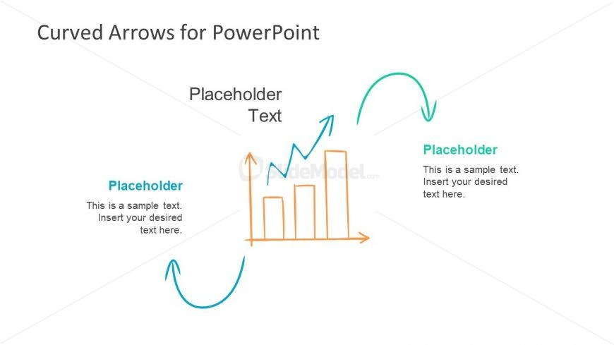 Bar Chart PowerPoint Trend Drawing