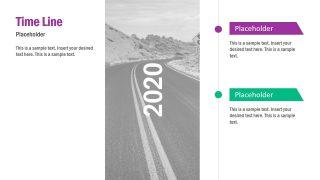 6 Milestones Timeline Template