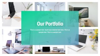 Presentation of Infographic Portfolio