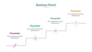 Infographic Business Model Slide