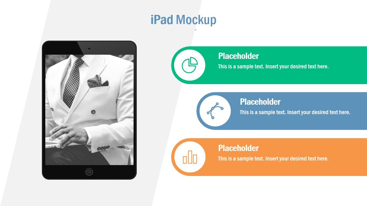 Business Mockup for Ipad Users