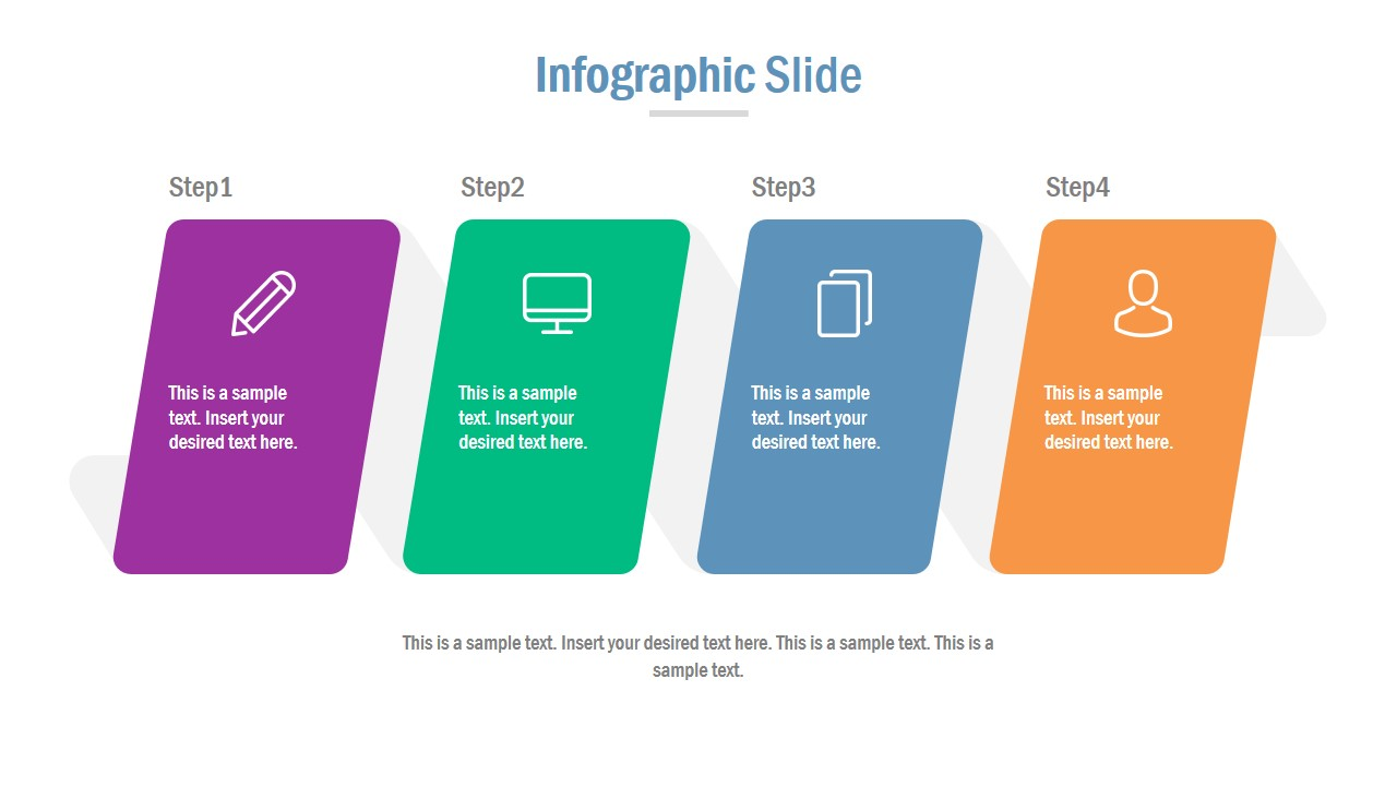4 Steps Template Diagram