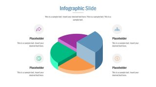 Infographic 3D Pie Diagram Template