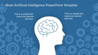 Brain Artificial Intelligence PowerPoint Template
