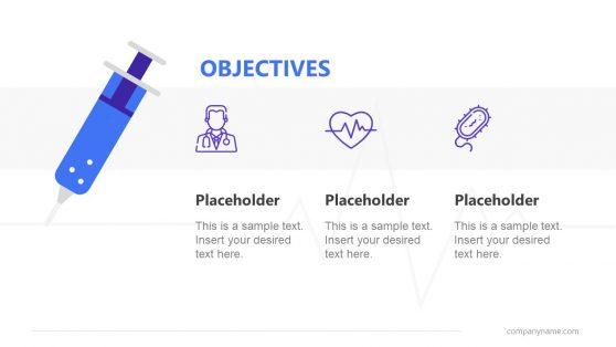PowerPoint Pharma Objectives Design