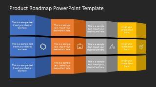 Presentation of Product Roadmap Timeline