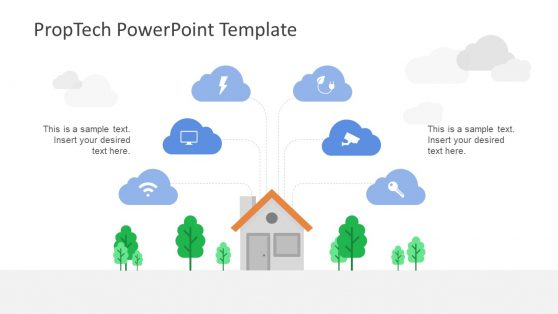 Wifi Smart Home Control Template