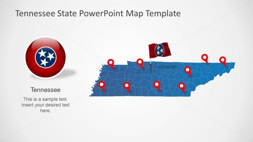USA State Editable Map