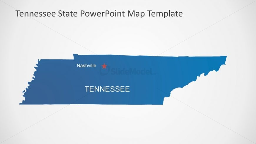 Nashville Highlight Map Template