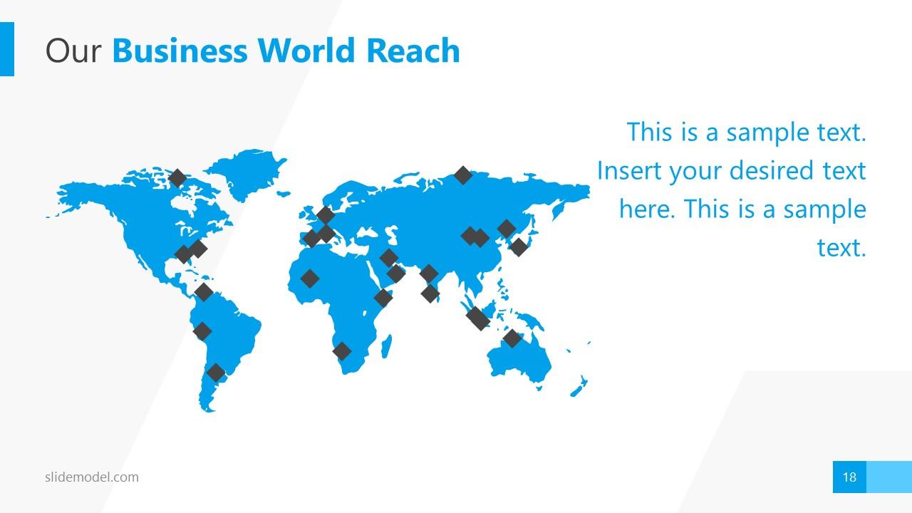World Reach PowerPoint Silhouette