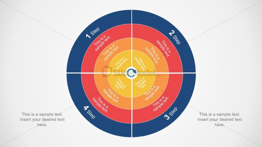 Circular PowerPoint Diagram with Core