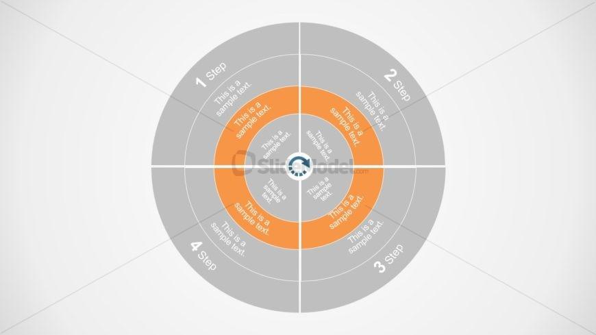 Flat Concentric Circle Template
