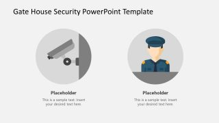 PowerPoint Security Template Digital Security
