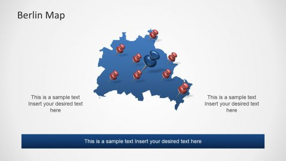 Editable Map Template of PowerPoint