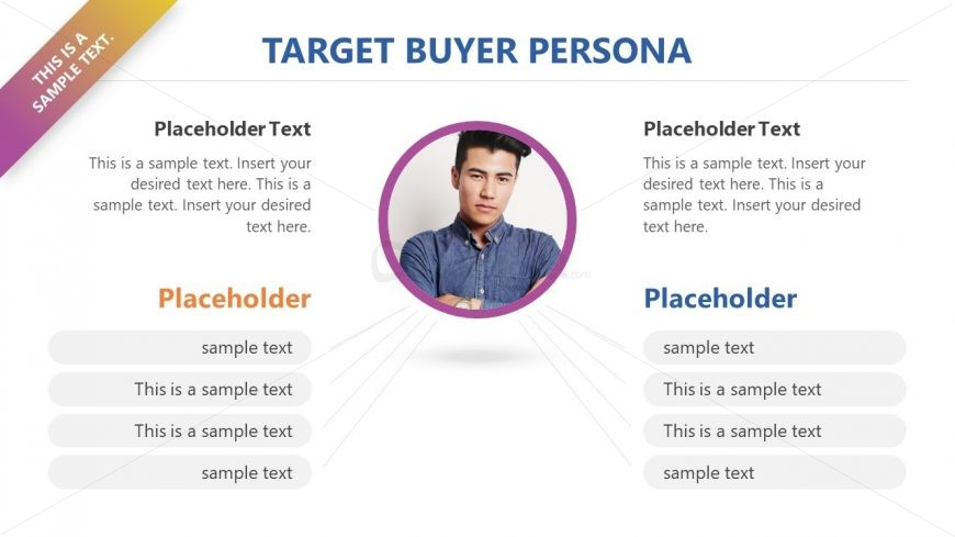 target customer persona template slidemodel. Black Bedroom Furniture Sets. Home Design Ideas