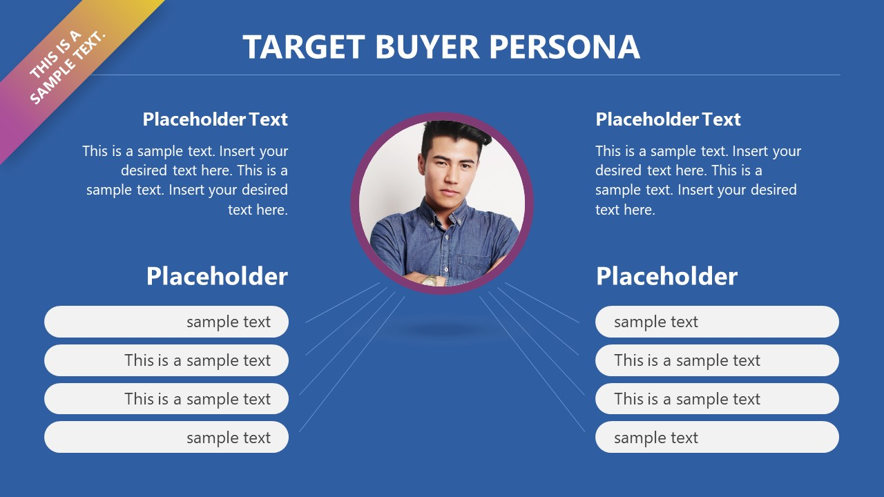 Slide of Sales and Marketing Persona