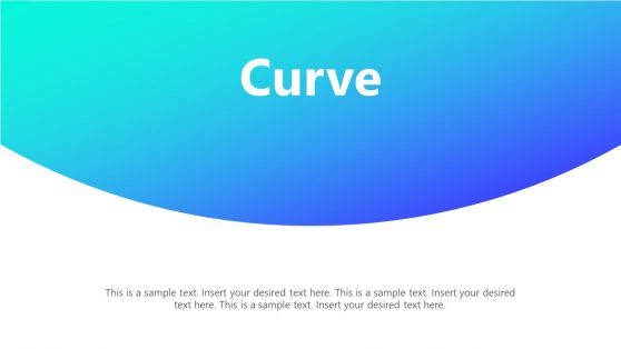 Curve Style PowerPoint background