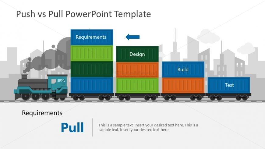 Strategic PowerPoint Template Train
