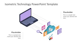 Slide of Isometric Technology PowerPoint
