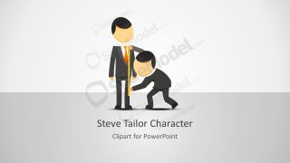 Cartoon Character Steve PPT