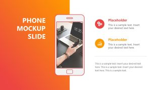 Template of Phone Mockup Demo