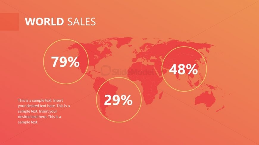 Sales and Marketing PowerPoint Map