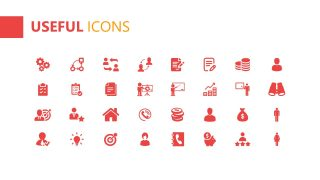 PPT Infographic Icons Template