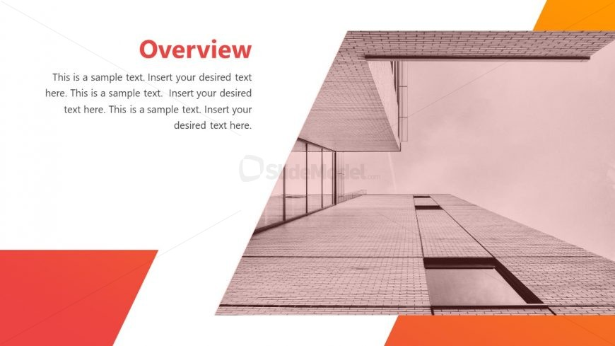 Layout of Cutout Shape Background