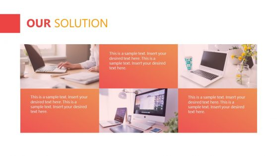Three Segments PowerPoint Design Solutions