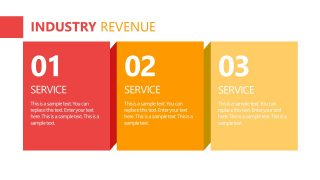 PowerPoint Layout for Industry Revenue