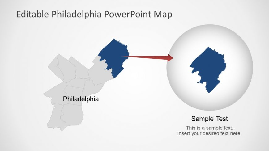 Silhouette PowerPoint Map of US States - SlideModel
