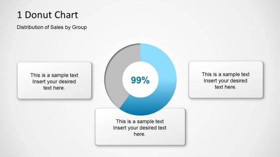 1 Donut Chart Slide Design for PowerPoint