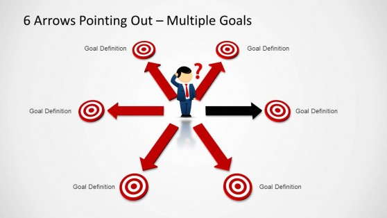 multiple directions powerpoint templates