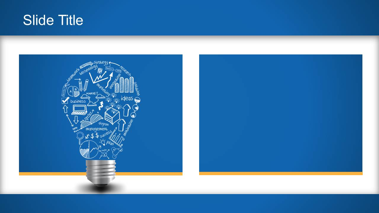 light bulb idea powerpoint template slidemodel