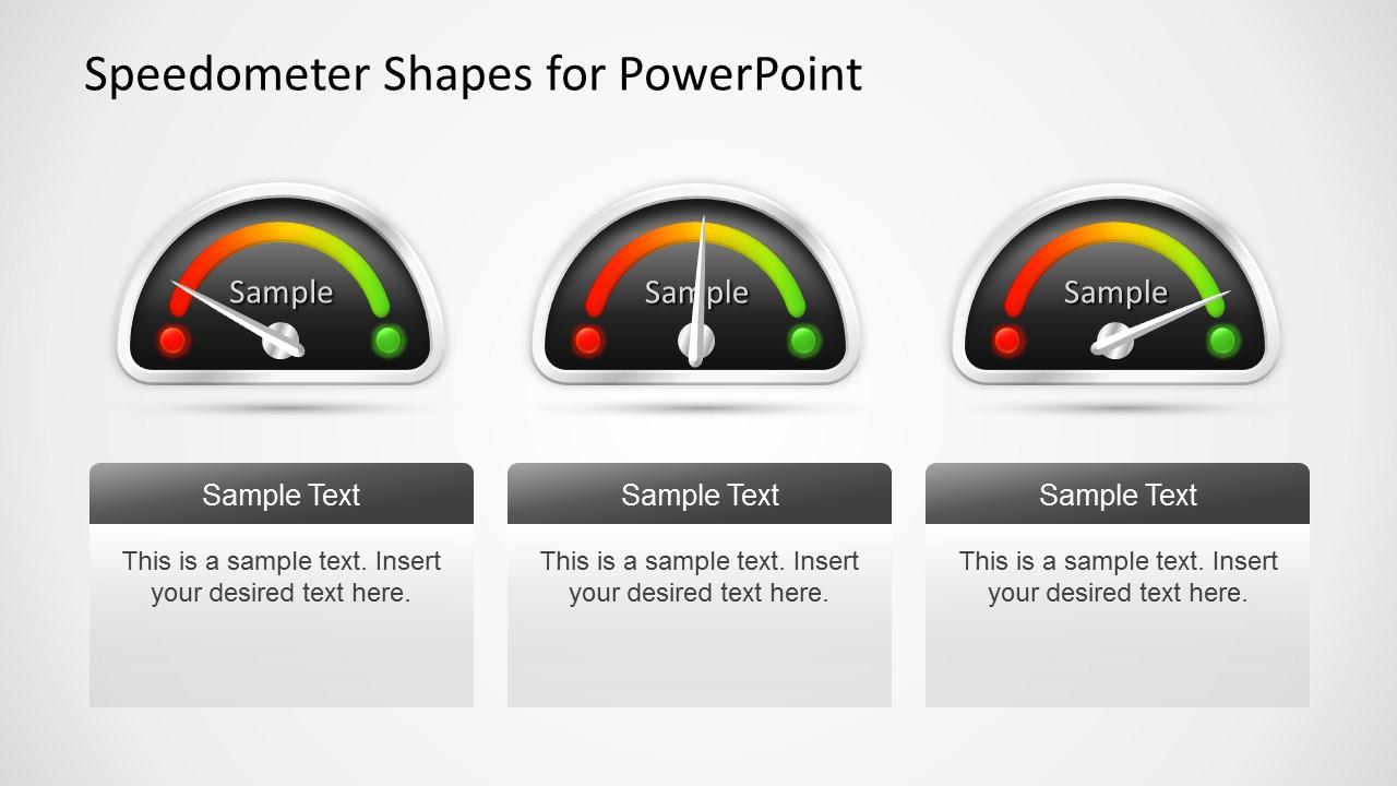 Animated Dashboard Speedometer Template For Powerpoint Slidemodel