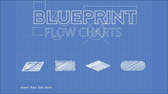 Blueprint Flowchart PowerPoint Diagram
