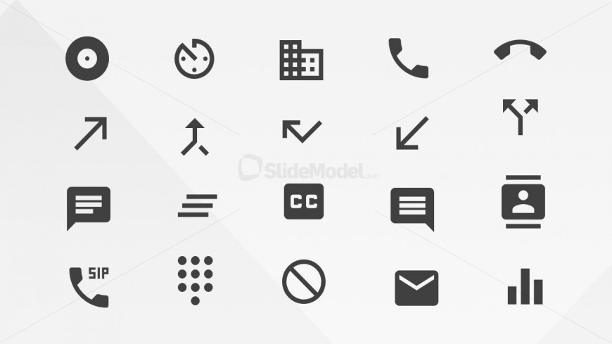 PowerPoint Icons from the Google Materials Resource Library