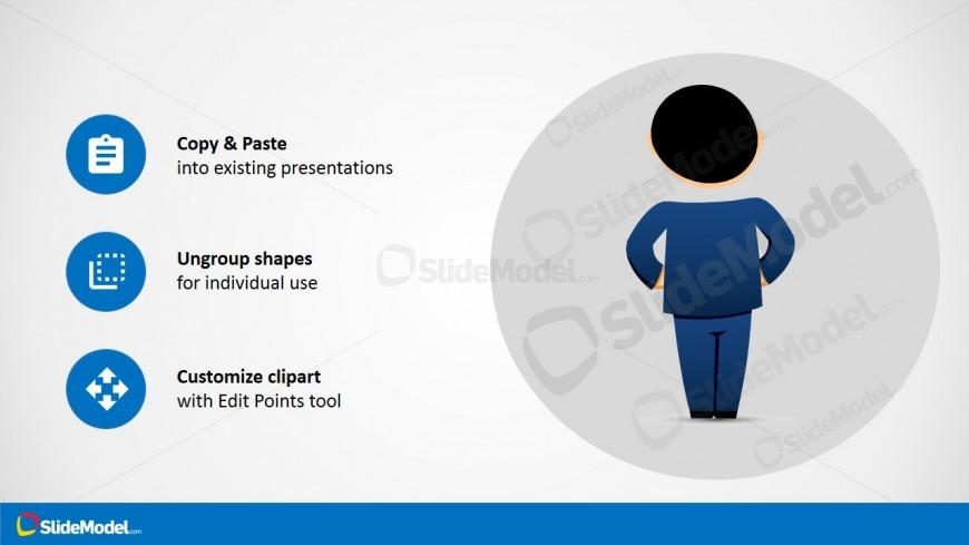 Mike Posing Backwards in PowerPoint