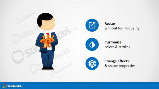 Businessman Male Cartoon Clipart