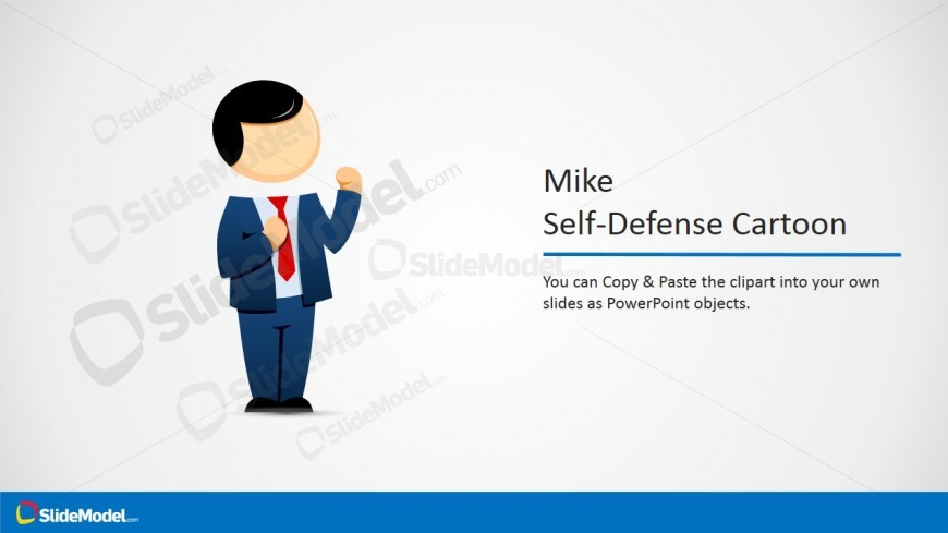 Fighting Cartoon Picture for PowerPoint