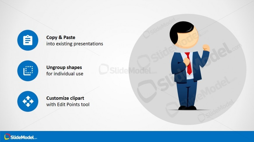 Personal Defense Cartoon Clipart for PowerPoint