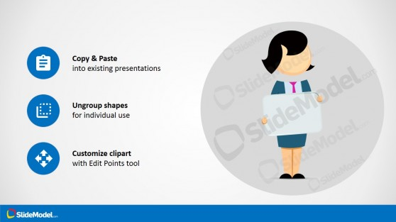PowerPoint Icons and Jane Cartoon
