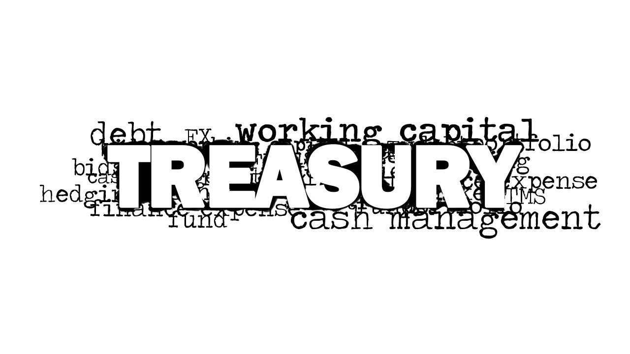 treasury word cloud picture for powerpoint
