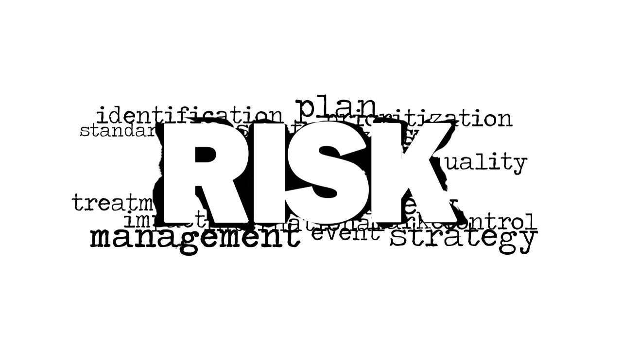 risk word cloud picture for powerpoint