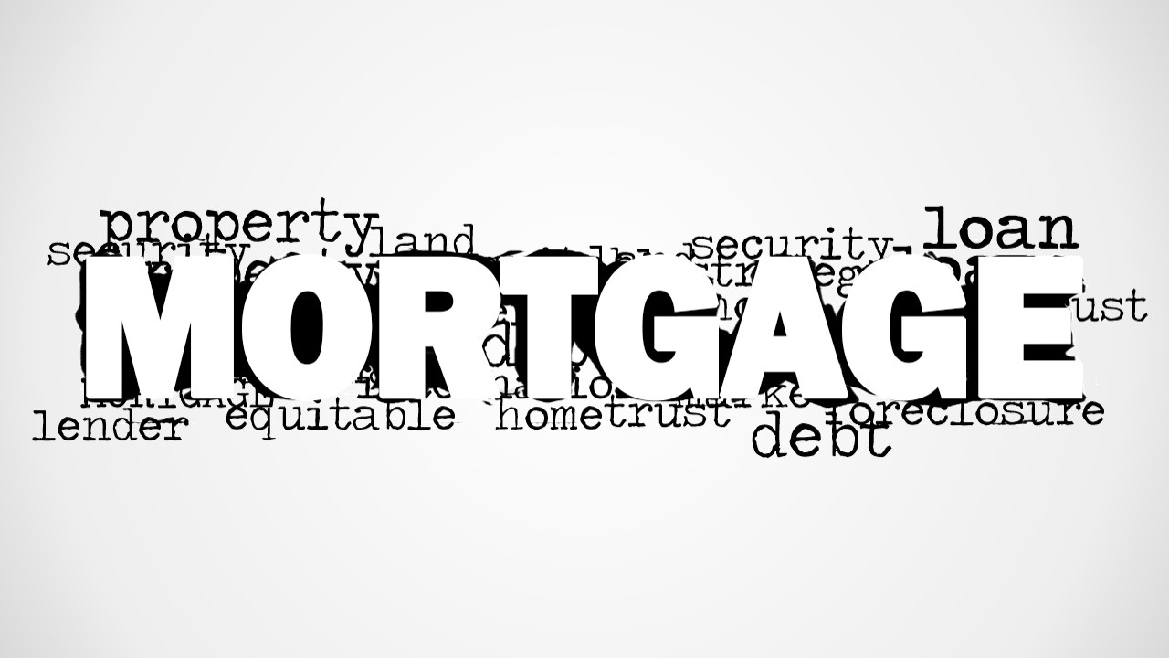 mortgage word cloud picture for powerpoint