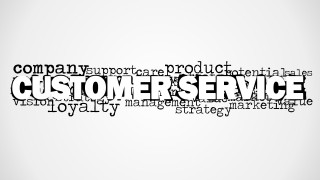 Customer Service Word Cloud Picture